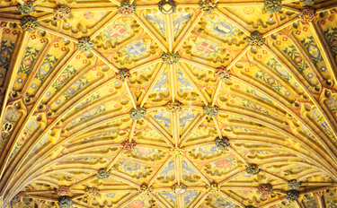 Sherborne Abbey - choir fan vaulting - detail 1.jpg